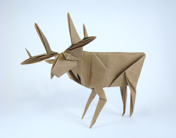 Origami Deer And Moose Gilads Origami Page