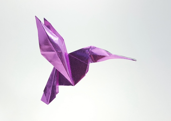 origami hummingbird diagram instructions float level switch wiring hummingbirds gilad s page by michael g lafosse diagrams