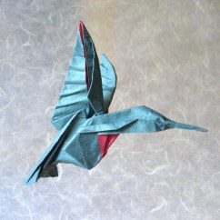 Origami Hummingbird Diagram Instructions Wiring A 3 Way Dimmer Switch Hummingbirds Gilad S Page By Michael G Lafosse Diagrams In Advanced