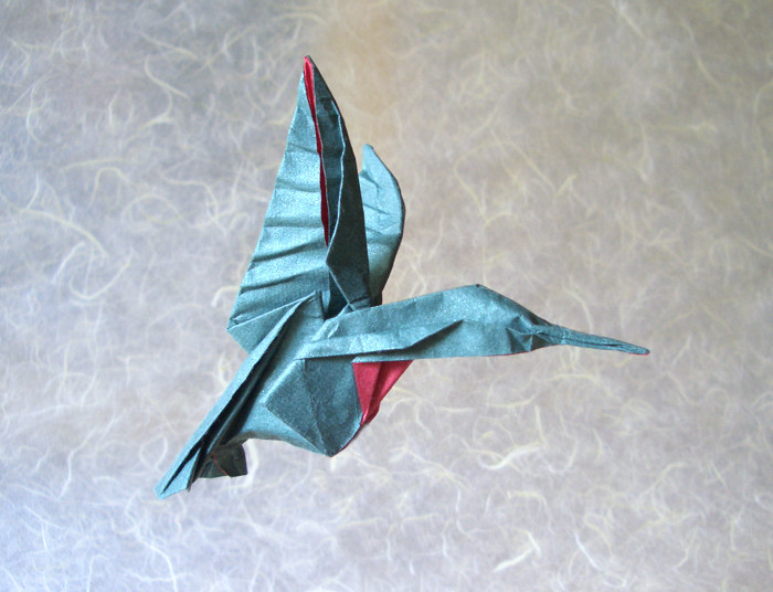 origami hummingbird diagram instructions electronic circuits projects diagrams free pdf hummingbirds gilad s page by michael g lafosse in advanced