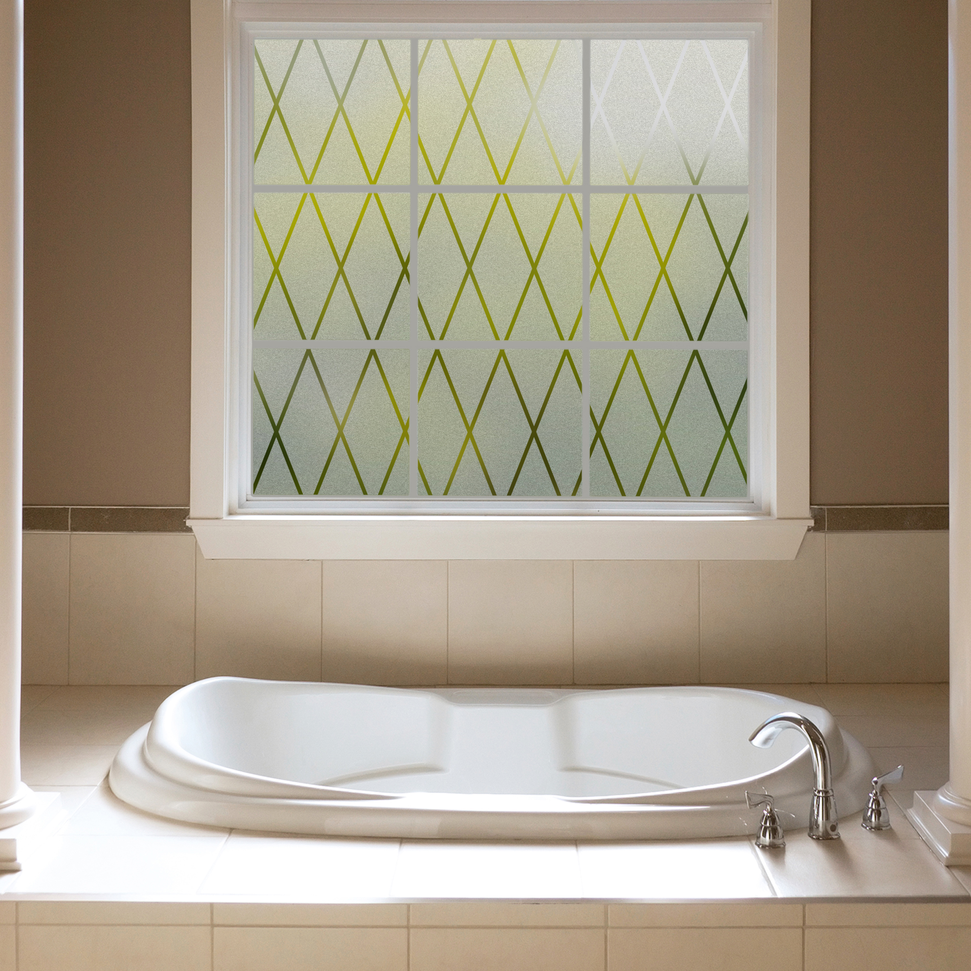 Gila Frosted Lattice Privacy Control Dcor Window Film