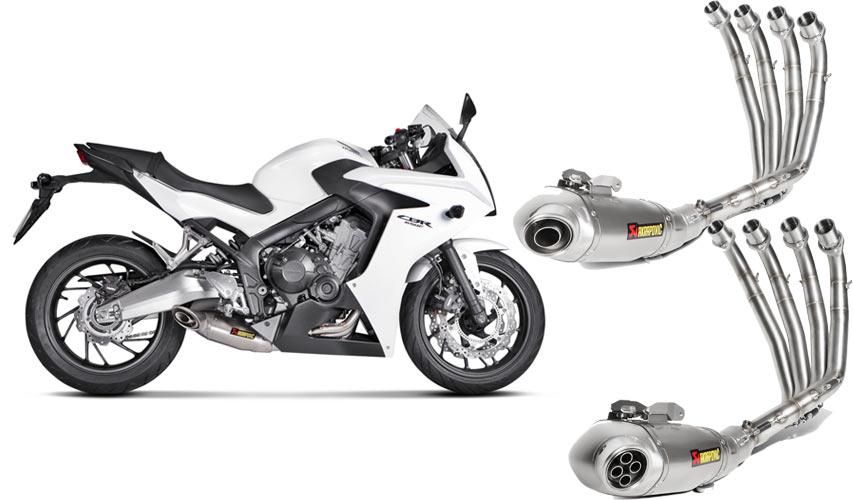 Akrapovic Hadirkan Dua Knalpot Racing Honda CB650F dan