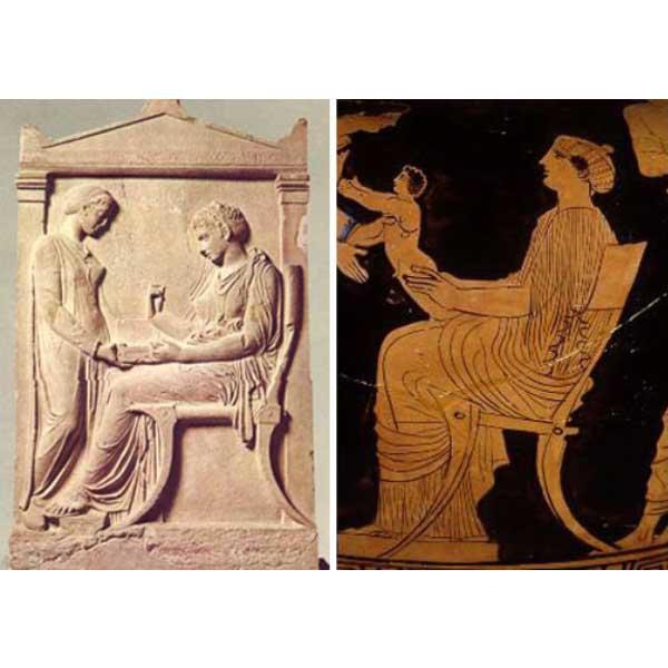 klismos chair. klismos. greek chair. ancient greek furniture.