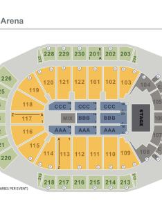 Seating charts arz end stage seated  also gila river arena rh gilariverarena