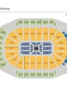Arz in the round seated  also seating charts gila river arena rh gilariverarena