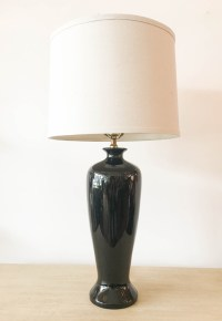 Tall Black Lamps