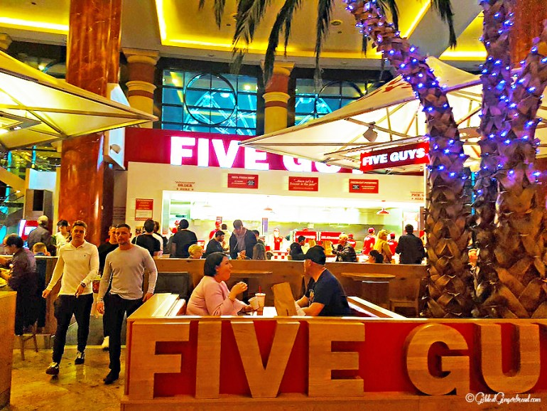 Five Guys Trafford Centre