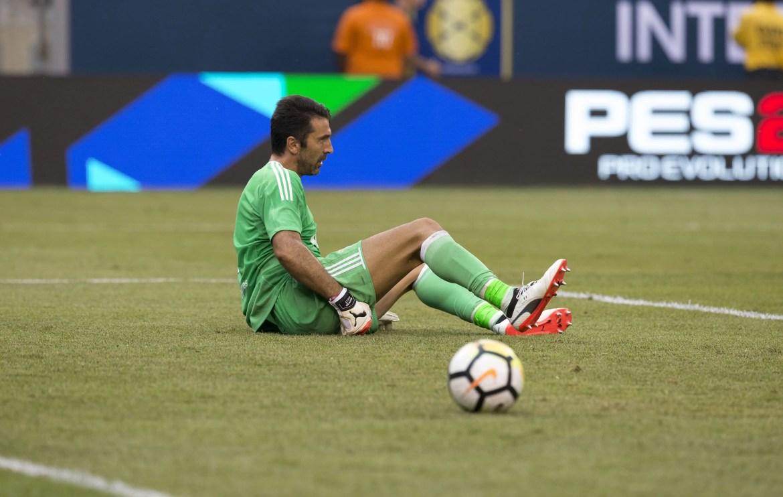 Juventus goalkeeper Gianluigi Buffon is defeated (Photo: Lev Radin)