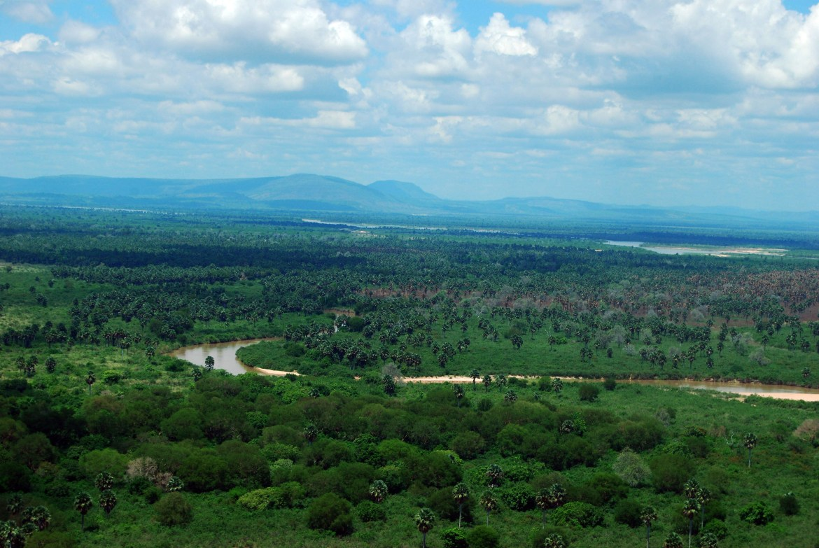 Selous Game Reserve, Africa's largest game reserve