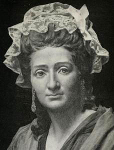 Marie Tussaud around 40 years old