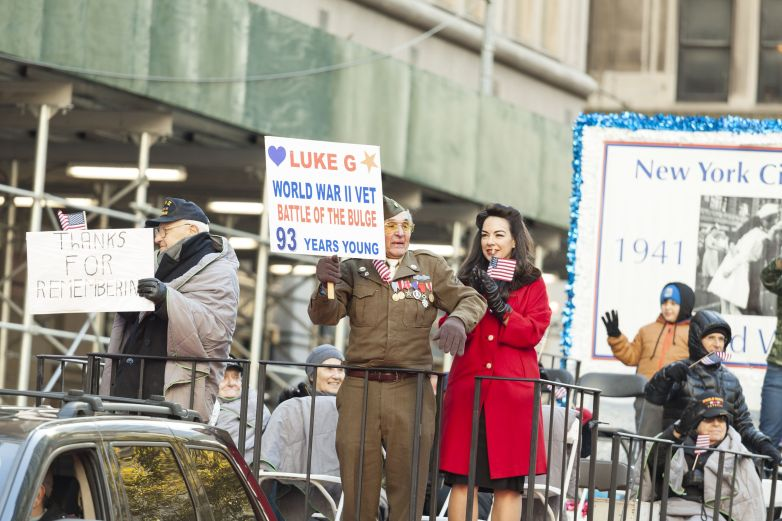 True Veterans at this year's Veterans Day Parade in NYC (Photo: Lev Radin)