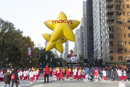 Macy's Thanksgiving Day Parade 2017 NYC (Photo: Lev Radin)