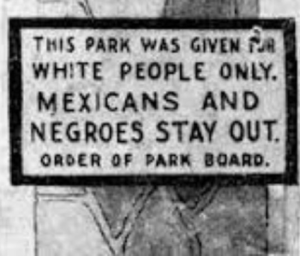 Evidence of Jim Crow Laws the green book