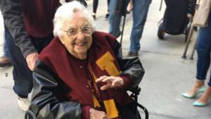 Sister Jean, Loyola (Chicago) chaplain and friend to all.