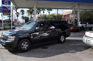 For some, summer vacation means gassing up the big car.