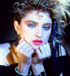 Madonna's 80s look is back