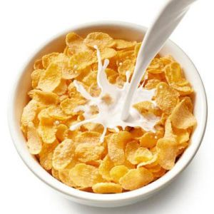 It's 8 pm and you're having corn flakes...because you can.