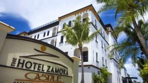 The Hotel Zamora, in St. Petersburg, Fla.