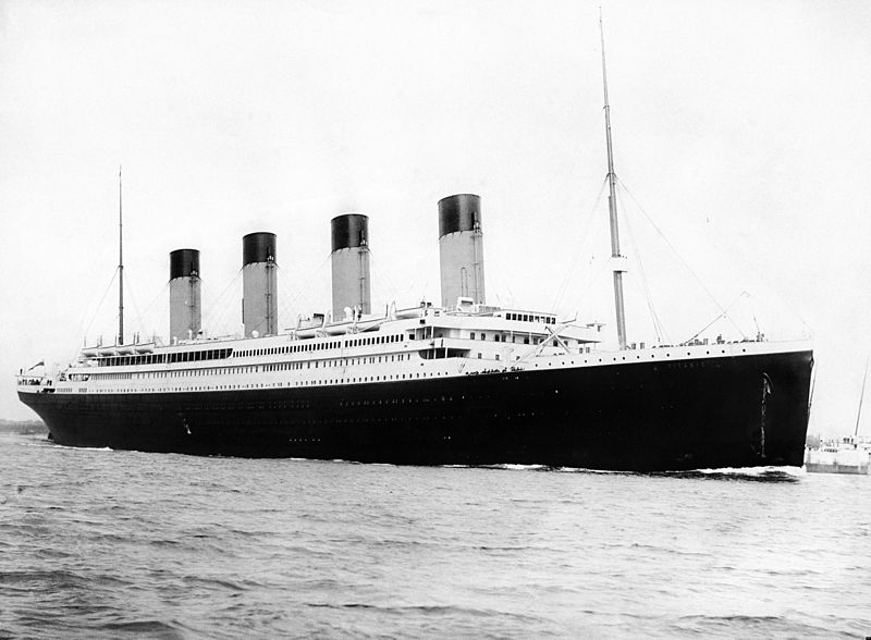 Titanic might have been doomed from the start.