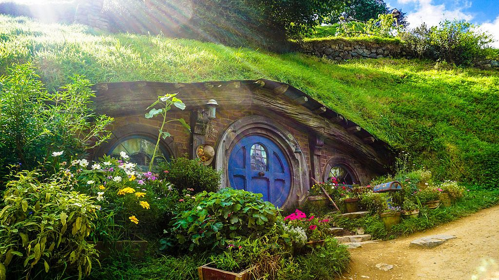 Hobbiton, the town where the hobbit heroes - Frodo, Sam, Merry, Pippin, and Bilbo - hail from.