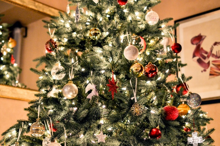 The Christmas tree tradition as we know it is actually credited as being started in the 16th Century in the country of Germany.