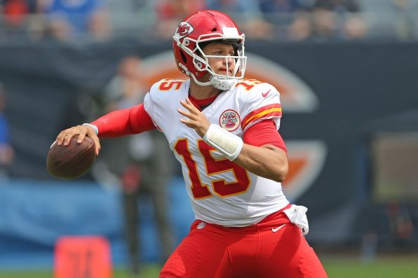 Young Patrick Mahomes is ready for his NFL Divisional Round test against Indianapolis.