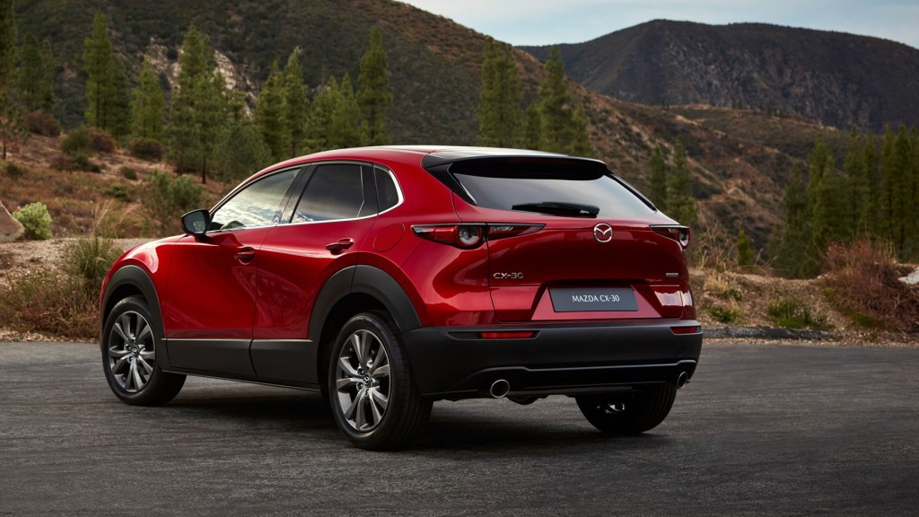 The Mazda CX-30 was a hit at the Geneva Motor Show.