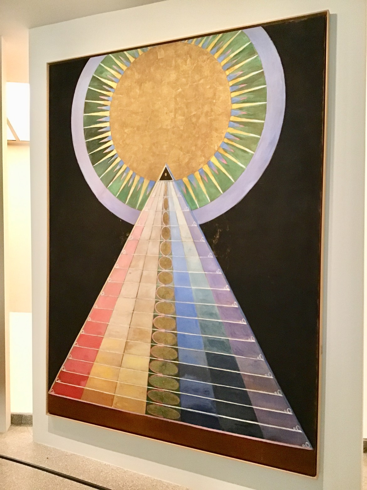 ilma af Klint's work at the Guggenheim Museum in New York City. (Photo: Ceara Rossetti/Gildshire)