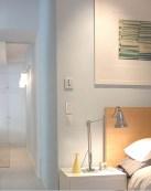 חדר שינה - דירה בטרייבקה גיל דביר עיצוב פנים