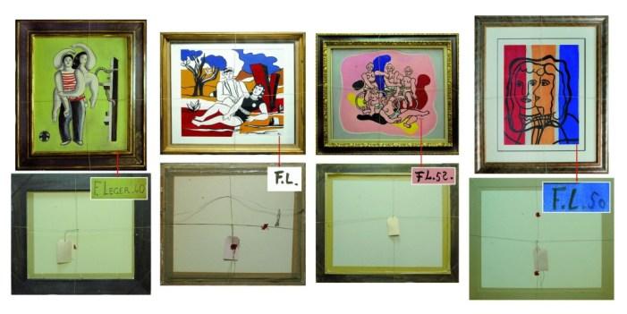 Faux d'après Fernand Léger