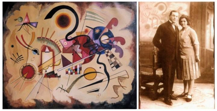faux Kandinski et photomontage de faussaire