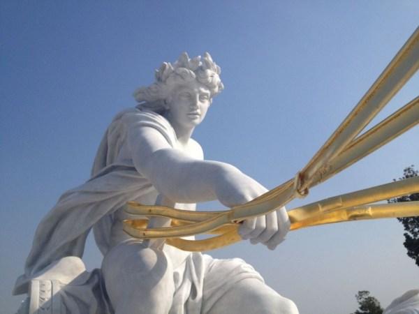 Installation Marble fountain Apollo at Chi Mei Museum 04