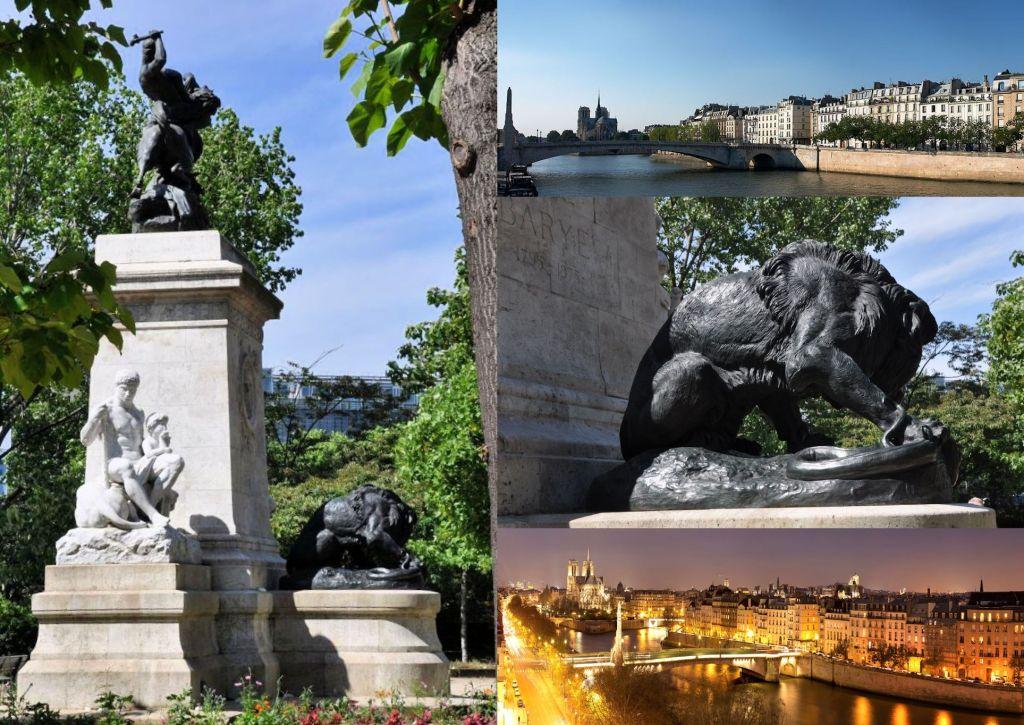 Monument de Barye à Paris 01
