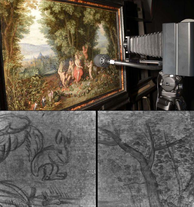 Caméra Osiris conçue pour la réflectographie infrarouge haute résolution.