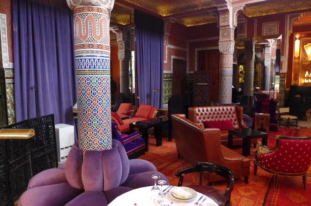 Palais Soleiman restaurant Marrakech  le charme du Palais Soleiman  Le blog de Gilles