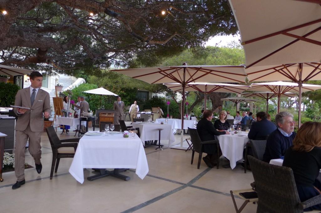 Le Cap au Grand Hotel du Cap Ferrat restaurant SaintJeanCapFerrat  les dlices du Cap  Le