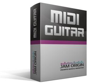 Test «MIDI Guitar 2» (Jam Origin)