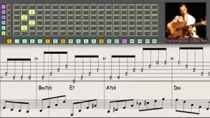Django Reinhardt - improvisation n°3 - Guitar Transcription