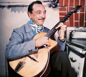 Django Reinhardt - Guitar transcription - Gilles Rea