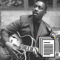 Wes Montgomery Bundle guitar transcription