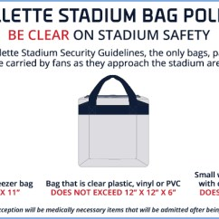 Folding Chairs In Bags Kitchen Chair Cushions With Ties Target Bag Policy - Gillette Stadium