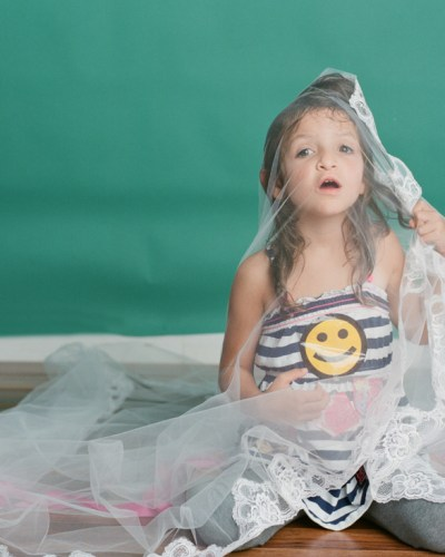 What happens when a photographer photographs their own child . . .