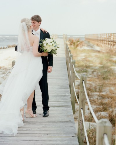 The romantic Debordieu Wedding of Keri and Alec in Pawleys Island, SC