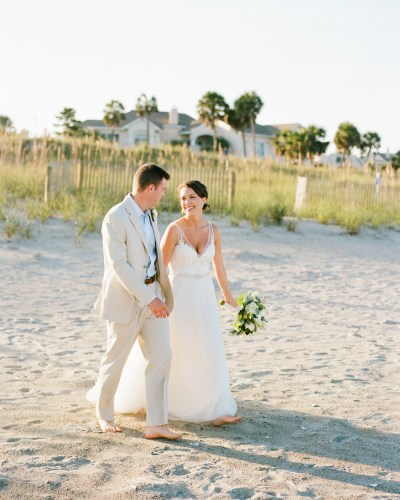 Beautiful Beach wedding at Debordieu  |  Lindsey and Rob