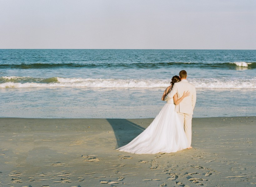 Debordieu wedding on the beach (62)