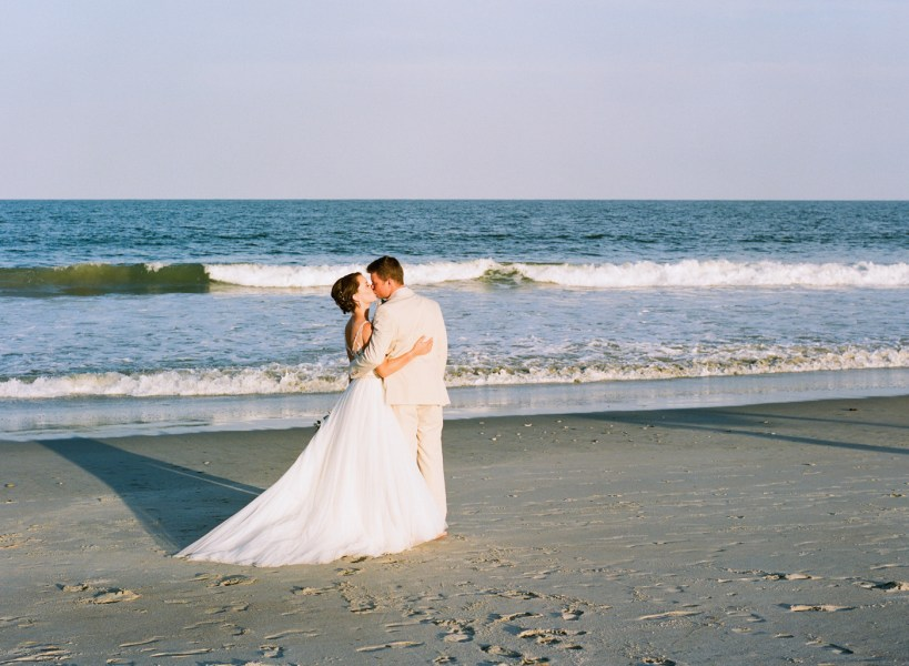 Debordieu wedding on the beach (63)