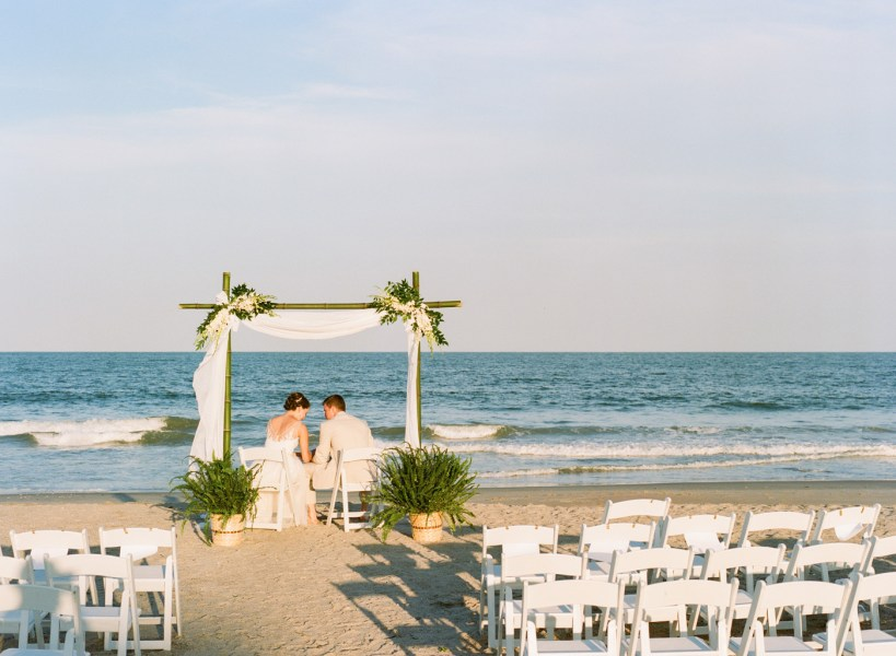Debordieu wedding on the beach (69)
