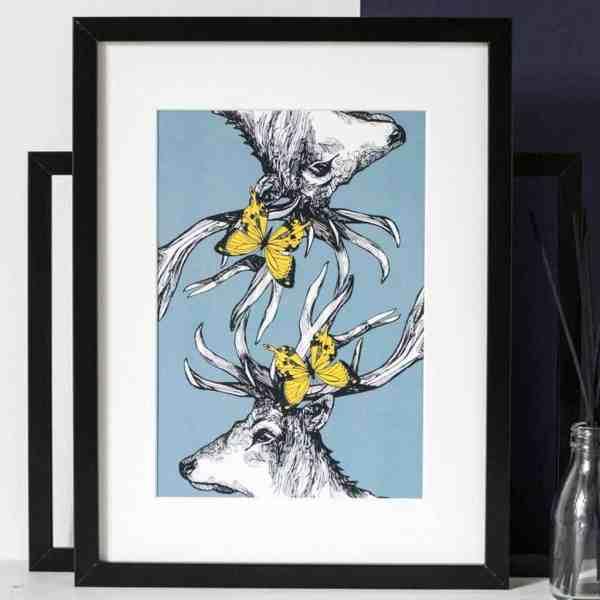 Scottish Stag Canvas Print