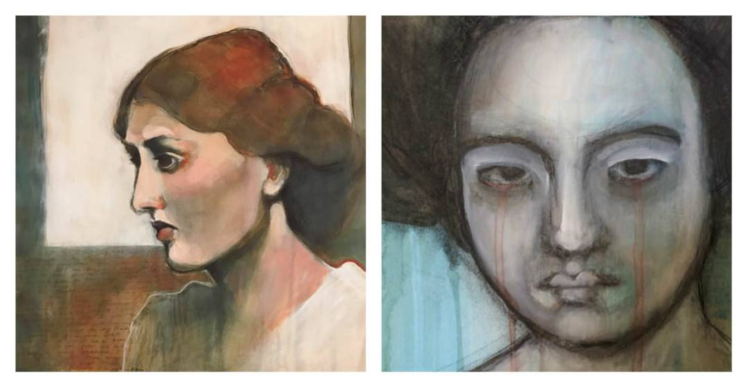 Gillian Lee Smith - Paintings by Ivy Newport and Angela Kennedy