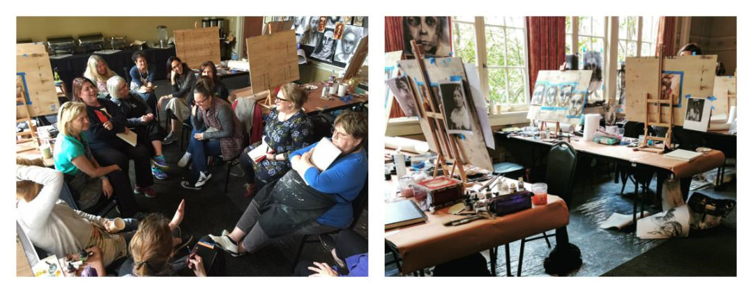 Gillian Lee Smith - Morning gatherings and a busy room of creativity
